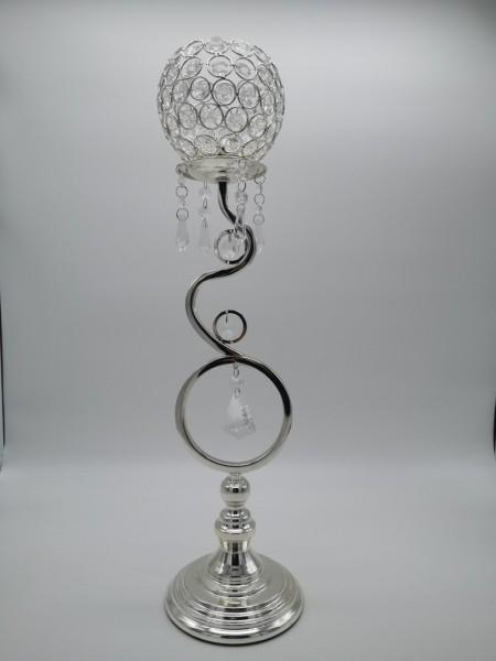 Schäfer Dekofigur mit Kristall