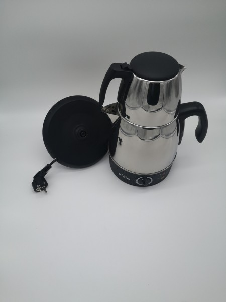 Schäfer Elektrischer Teekocher Edelstahl