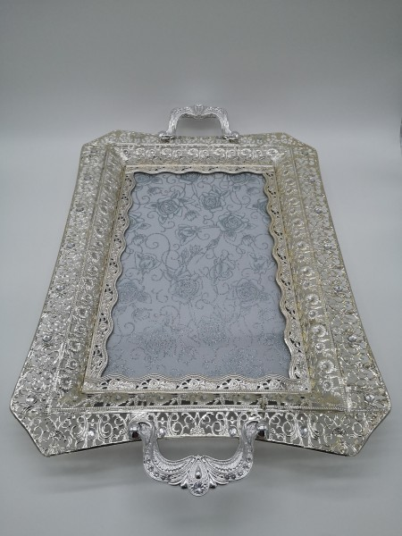 Hoffmanns Teetablett / Dekotablett 61x39,5cm