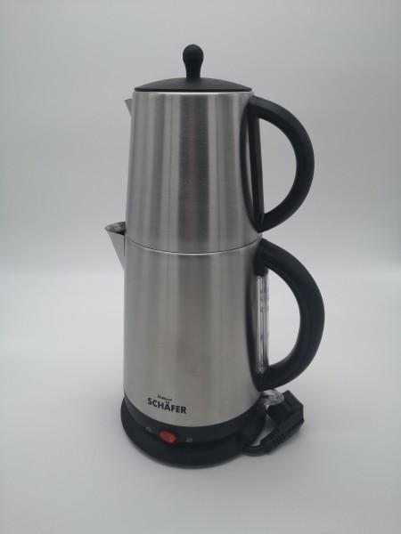 Schäfer Elektrischer Teekocher Edelstahl LINA